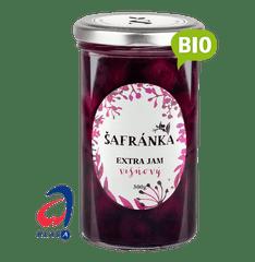 Marmelády Šafránka Extra džem višňový 300g