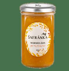 Marmelády Šafránka Extra džem pomeranč 300g