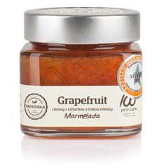 Marmelády Šafránka Marmeláda Grapefruit růžový s rebarborou a whisky 270g