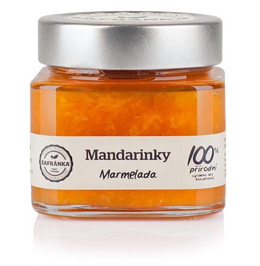 Marmelády Šafránka Mandarinky 100% marmeláda 270g
