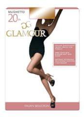 Glamour Dámské punčochové kalhoty MUGHETTO Glamour černá XL