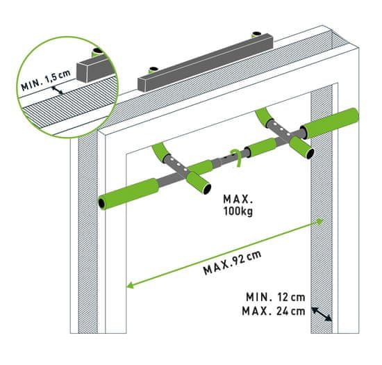Schildkröt Doorway Multi Functions ručke za podizanje