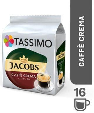 Jacobs Tassimo Krönung Cafe Crema 16 ks káva v kapslích