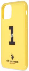 U.S. Polo Assn. No1 Bicolor kryt pro iPhone 11 USHCN61PCSNBY, žlutý