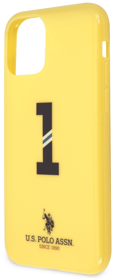 U.S. Polo Assn. No1 Bicolor kryt pro iPhone 11 Pro USHCN58PCSNBY, žlutý