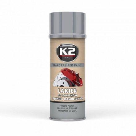 K2 Boja za čeljust, srebrna, 400 ml
