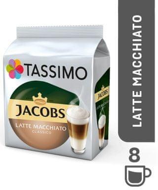 Jacobs Tassimo Krönung Latte Macchiato káva v kapslích