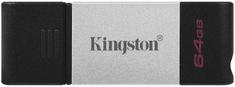 Kingston DataTraveler 80 USB-C spominski ključ, 64 GB