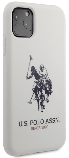 U.S. Polo Assn. Big Horse Silicone Effect kryt pro iPhone 11 Pro USHCN58SLHRWH