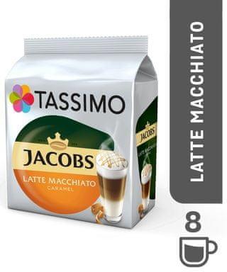 Jacobs Tassimo Krönung Latte Macchiato Caramel káva v kapsulách