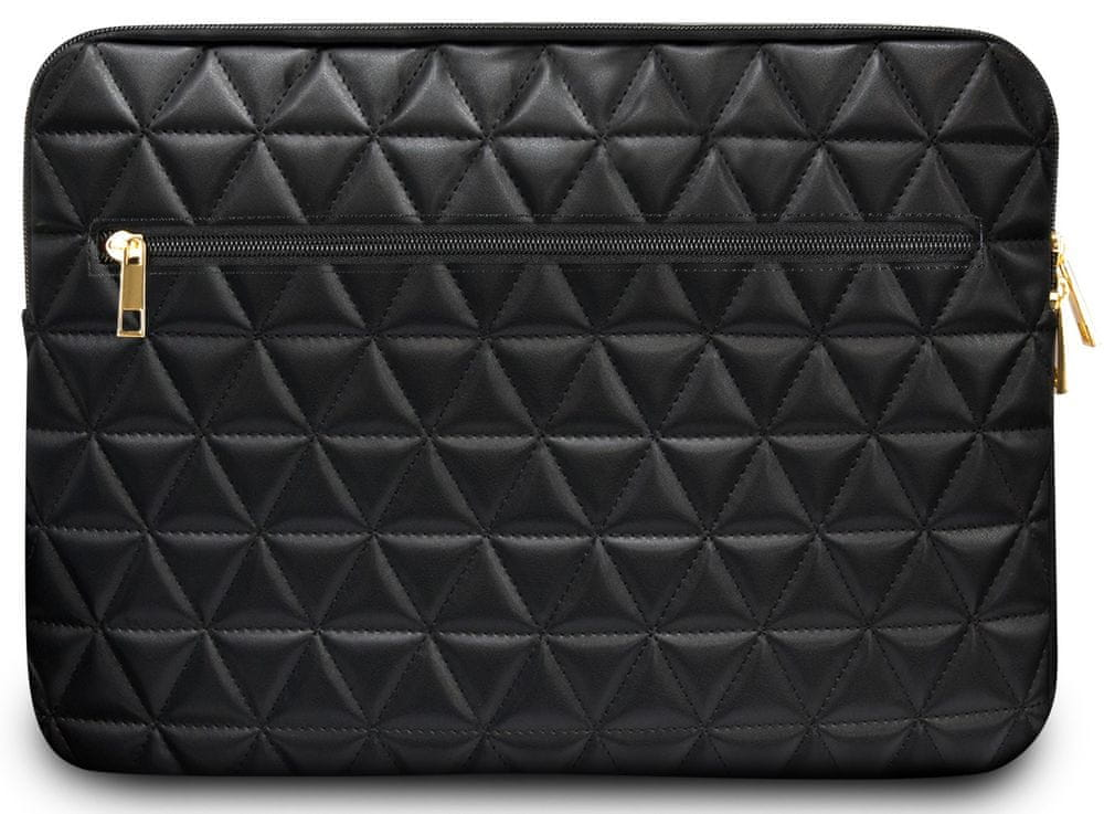 Guess Quilted obal pro notebook 13″ GUCS13QLBK, černý