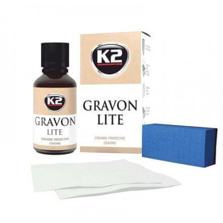 K2 keramička zaštita laka Gravon Lite, 30 ml