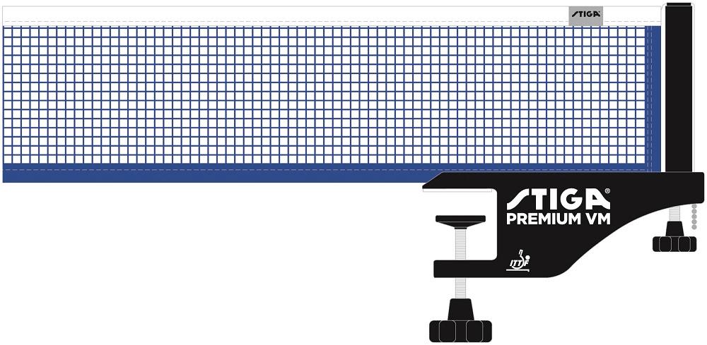 Stiga Síť na stolní tenis Premium WM - zánovní