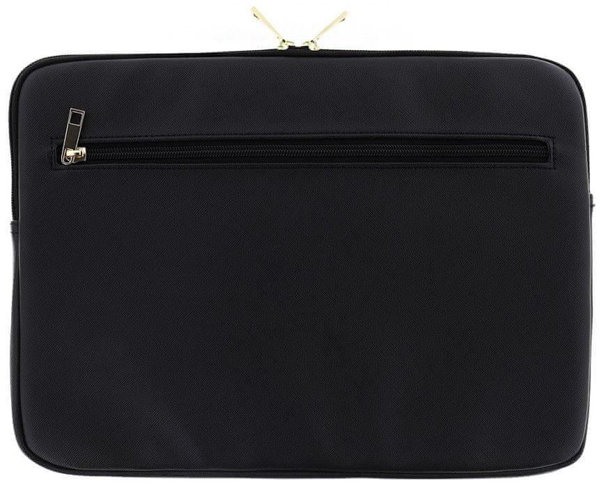 Guess Saffiano pouzdro pro 13″ notebook GUCS13TBK, černé