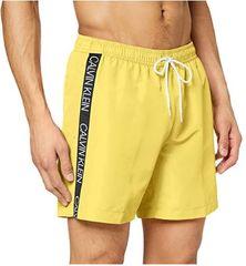 Calvin Klein szorty kąpielowe męskie KM0KM00434 Medium Drawstring M żółte