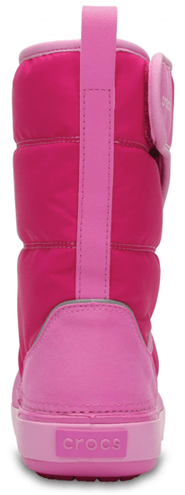 Crocs dekliški snežni čevlji Kids' LodgePoint Snow Boot 204660-6LR