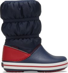 Crocs fiú hótaposó Crocband Winter Boot K Navy/Red 206550-485, 27-28, sötétkék