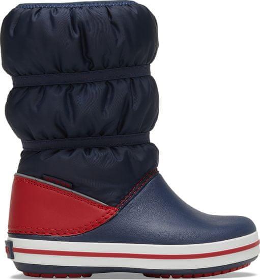 Crocs obuća za snijeg za dječake Crocband Winter Boot K Navy/Red 206550-485