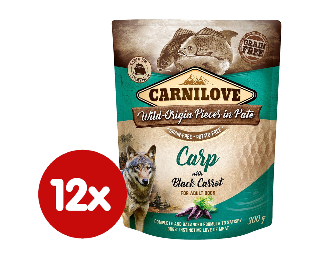 Carnilove Carp with Black Carrot 12x300 g