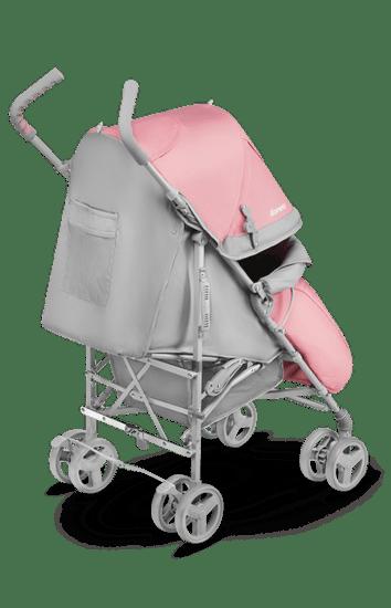 Lionelo otroški voziček voziček golf ELIA Tropical pink 2020, roza - Odprta embalaža