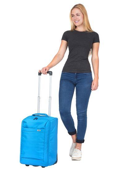 TRAVEL Z Príručná taška Weekend Trolley Blue