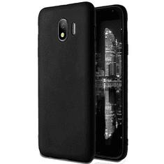MG Matte silikonski ovitek za Samsung Galaxy J4 Plus, črna