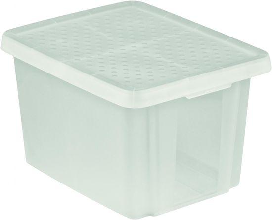 CURVER pudełko do przechowywania ESSENTIALS 26l z pokrywą, przezroczyste