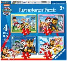 Ravensburger 030651 Tačke na patrulji sestavljanka, 4 v 1