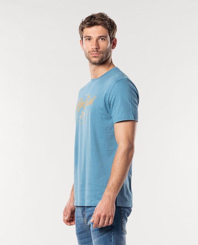 Rip Curl pánské tričko Lee Etz Tee M modrá