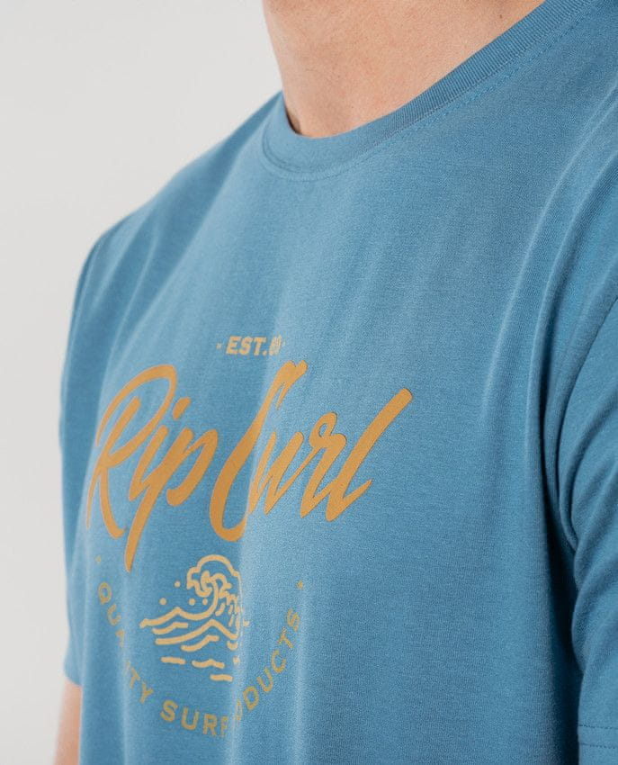 Rip Curl pánské tričko Lee Etz Tee XXL modrá