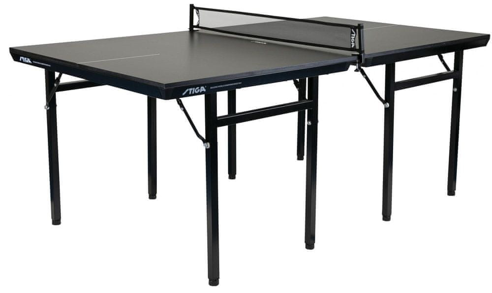 Stiga Home MIDI Black Edition pingpongový stůl, černý - rozbaleno