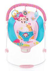 ZOPA Happy otroški ležalnik, Safari Pink
