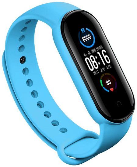 EPICO Silicone Strap zamjenski remen Xiaomi Mi Band 5/6 (50818101100001), svijetlo plavi