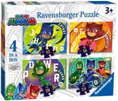 Ravensburger 050581 Pižamarji sestavljanka, 4 v 1