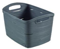 Curver Ribbon box L šedý