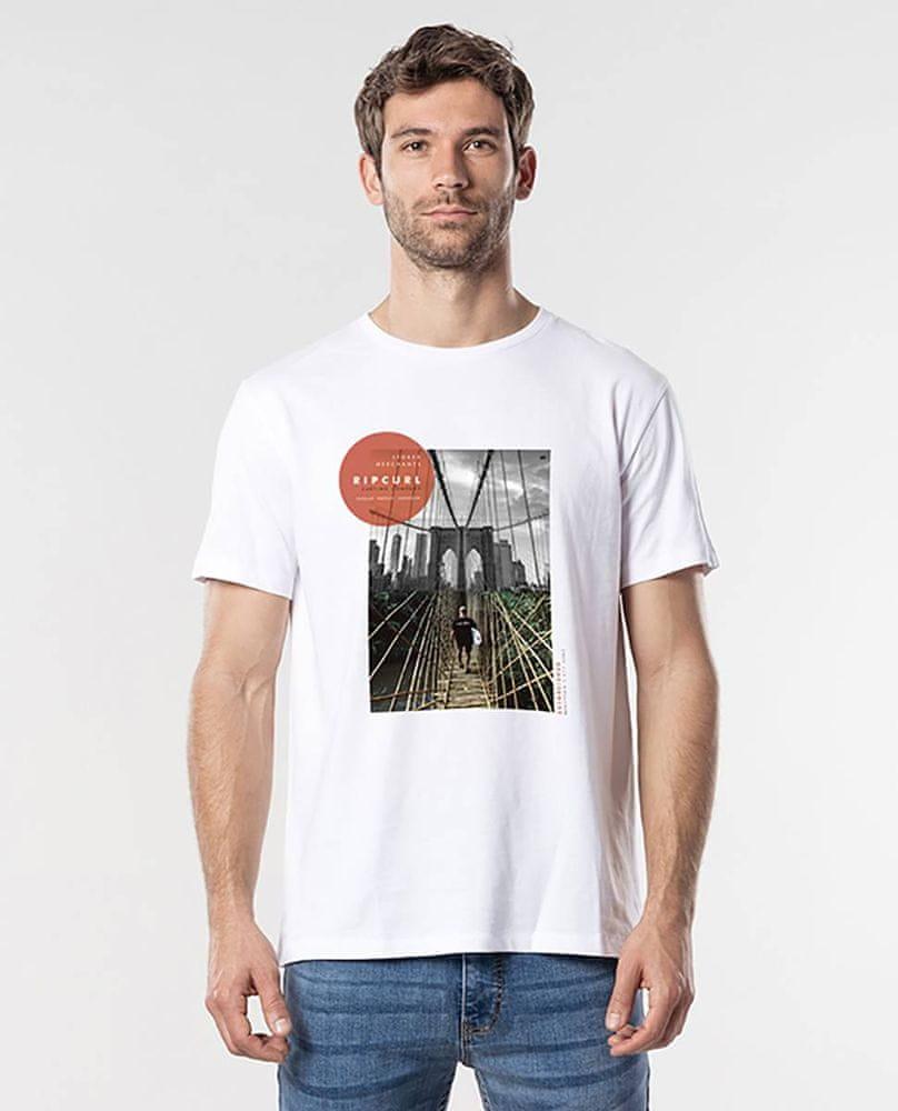 Rip Curl pánské tričko GD/BD Tee M bílá