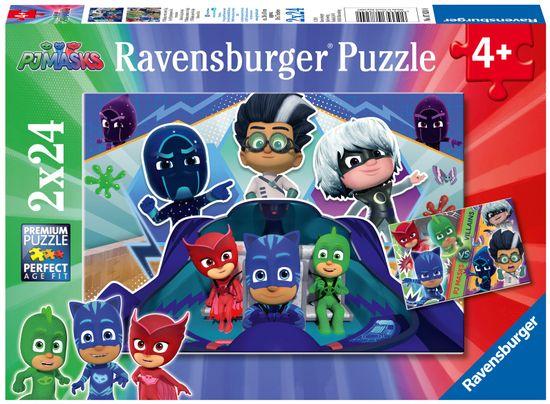 Ravensburger 078240 Sestavljanka Pižamarji, 2x 24 delov