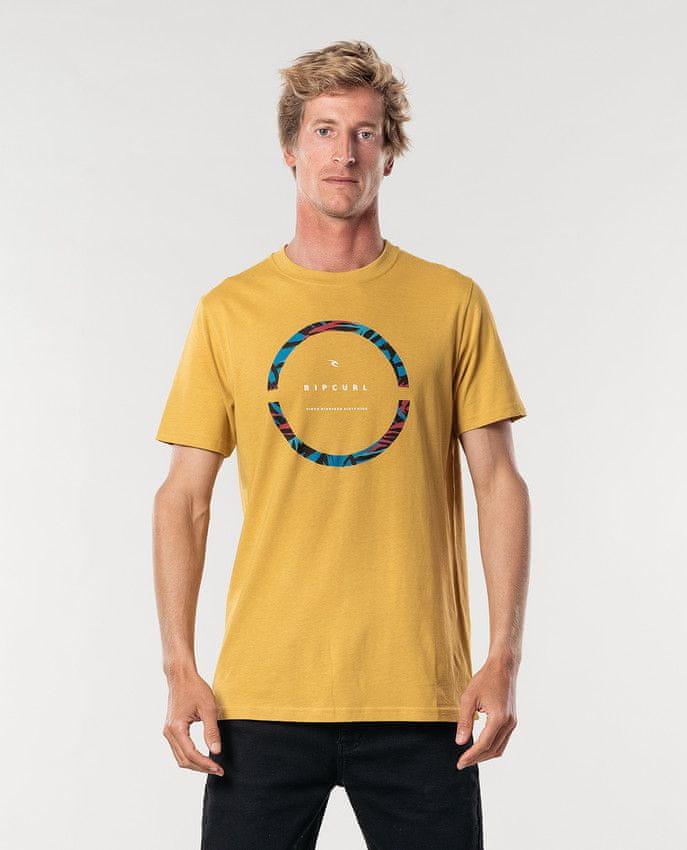 Rip Curl pánské tričko Filter Party Tee XXL žlutá