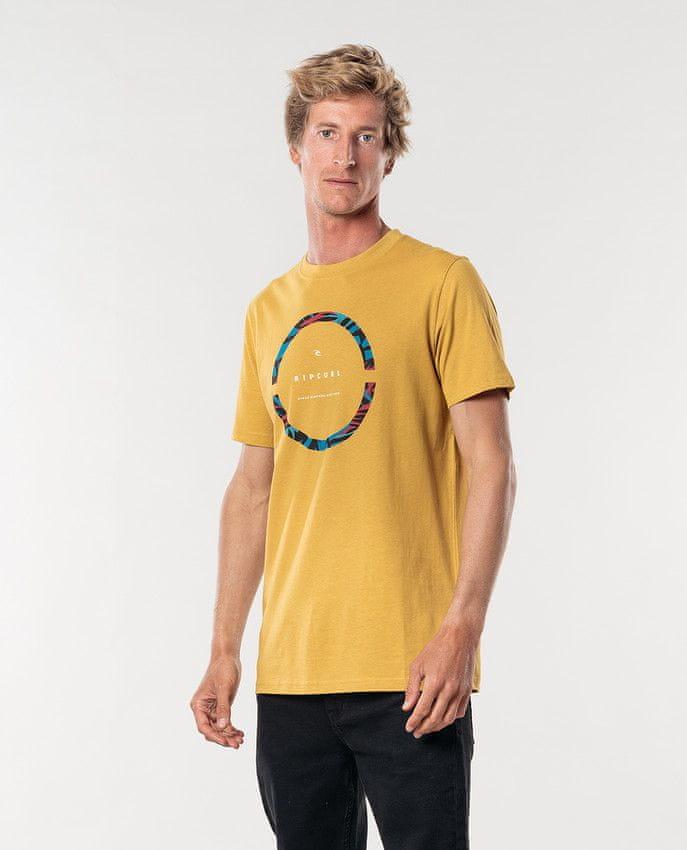 Rip Curl pánské tričko Filter Party Tee XL žlutá