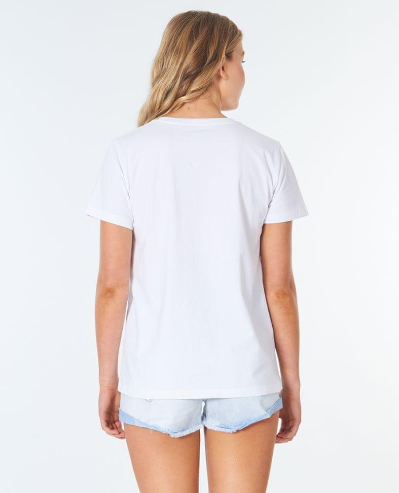 Rip Curl dámské tričko Logo Standard Tee XS bílá