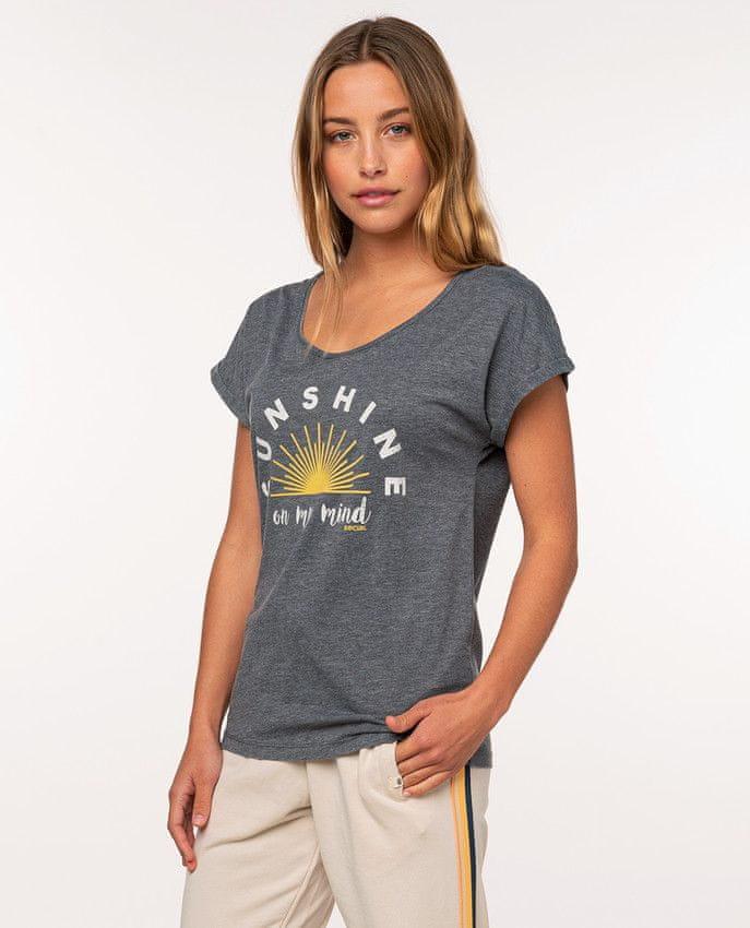 Rip Curl dámské tričko Sunshine Tee XL šedá