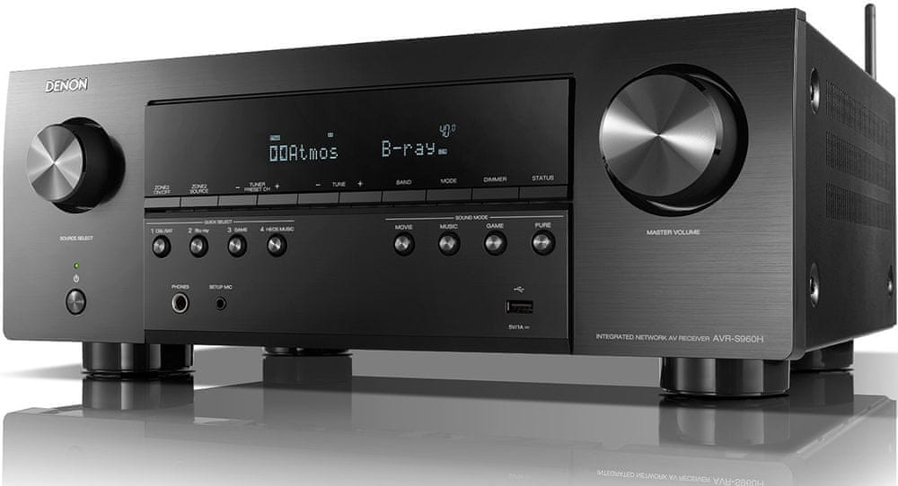 Denon AVR-S960H, černá