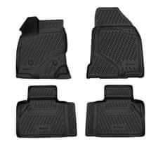 J&J Automotive Gumové koberce se zvýšeným okrajem Ford Edge 2013-