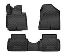 J&J Automotive Gumové koberce se zvýšeným okrajem Hyundai ix35 2010-