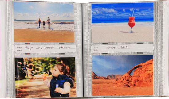Henzo Memo foto album, 200 slik 10x15, z žepki 50206.01