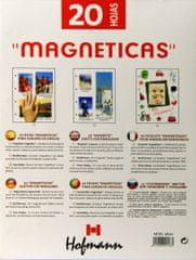 Hofmann Foto vložni listi A4, za različne dimenzije, magnetni 9820