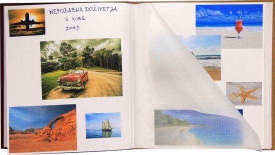 Henzo Foto album za slike, 100 belih strani 29x33 cm #10628.15