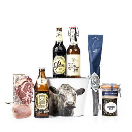 Dárkový pivní koš Správce statku