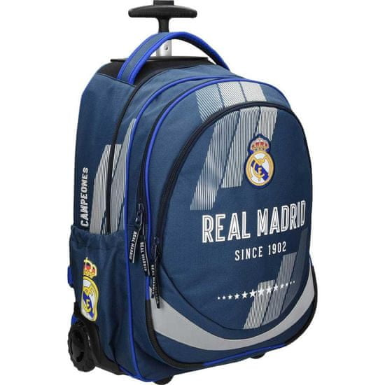 FC Real Madrid Trolley ruksak 1, plava