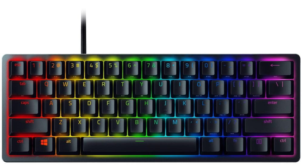 Razer Huntsman Mini, Razer Optical Purple, US (RZ03-03390100-R3M1)